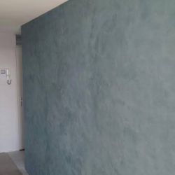 Wand grijs